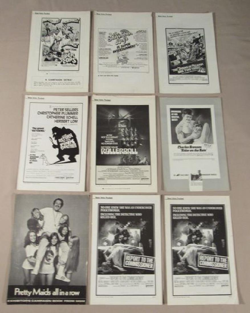 (50+) ASSORTED PRESSBOOKS - MOST UNCUT - 3