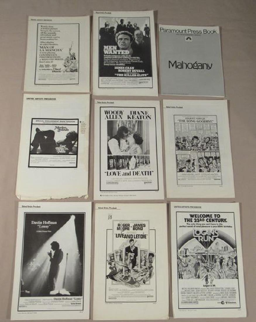 (50+) ASSORTED PRESSBOOKS - MOST UNCUT - 5