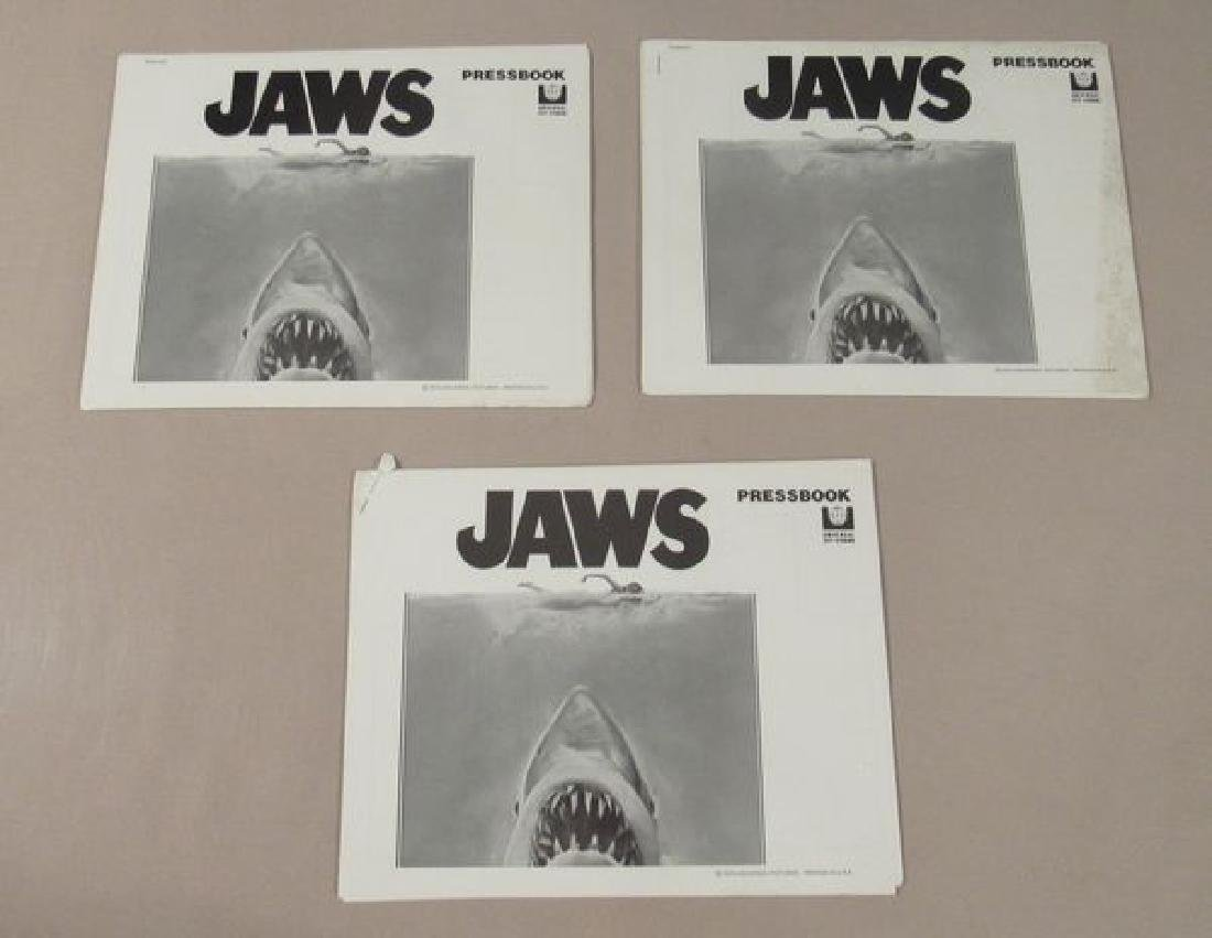 (3) JAWS PRESSBOOKS, EACH 18 PAGES