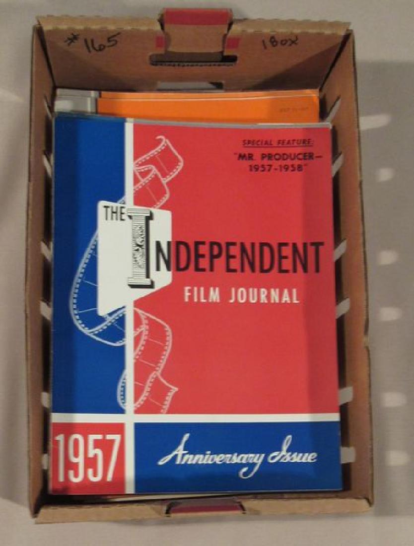 1957 & 1958 INDEPENDENT FILM JOURNALS
