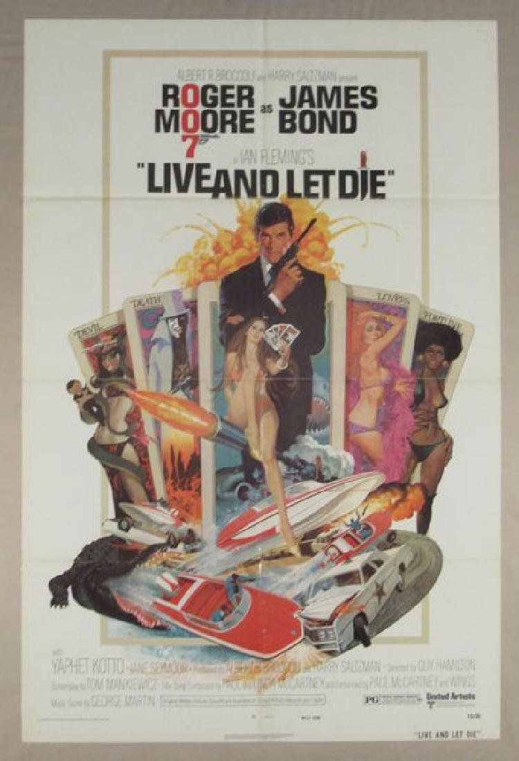 LIVE AND LET DIE - 1973