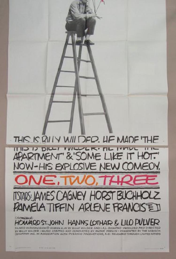 ONE, TWO, THREE - 1961, THREE SHEET - 3