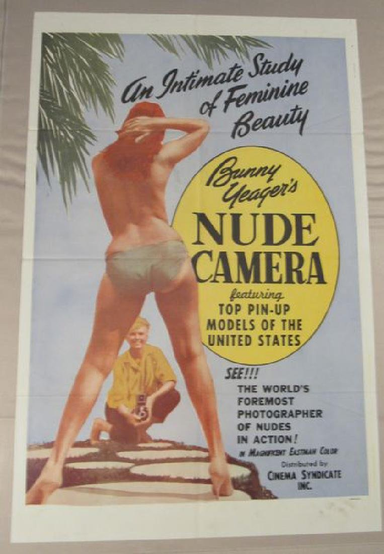 NUDE AMERICA - 1964 ONE SHEET