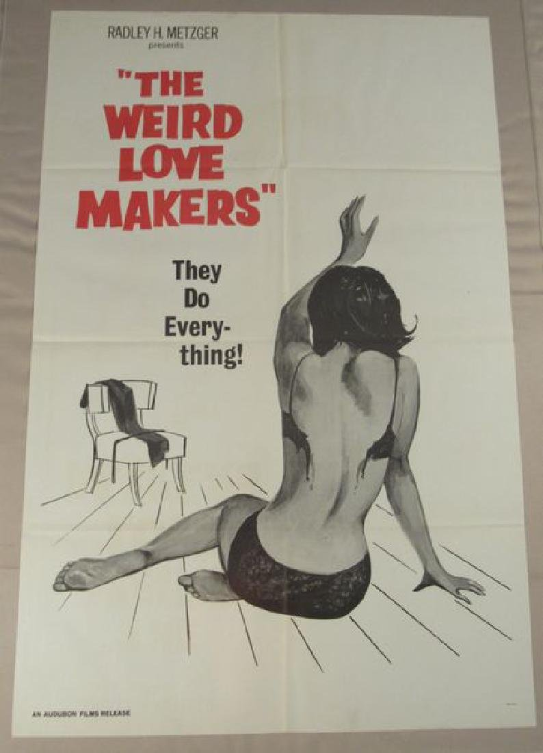 THE WIERD LOVE MAKERS - 1960 ONE SHEET