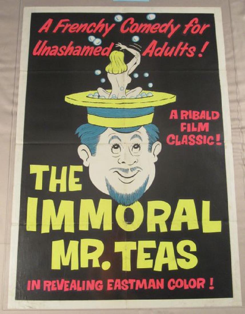 THE IMMORTAL MR. TEAS - 1961 ONE SHEET