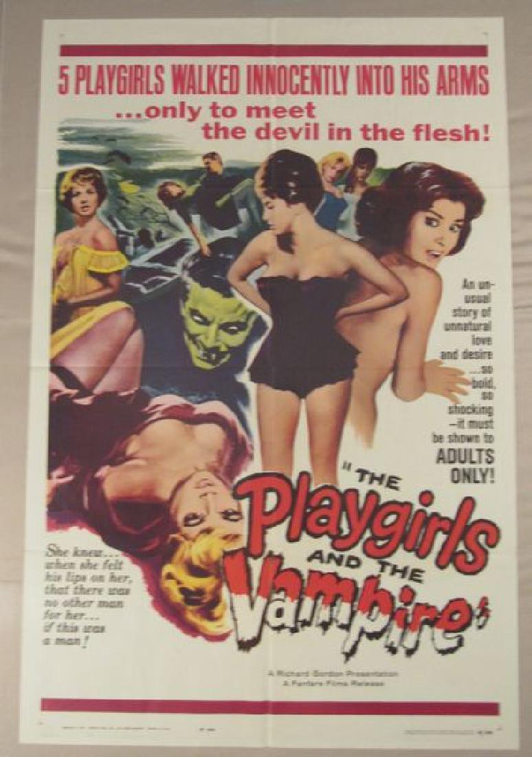 PLAYGIRLS & THE VAMPIRE - 1963