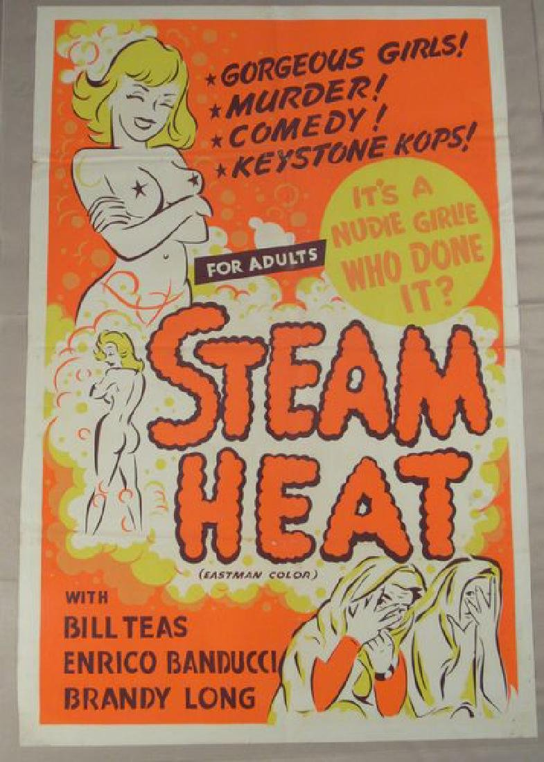 STEAM HEAT - 1963 ORANGE DAY GLO