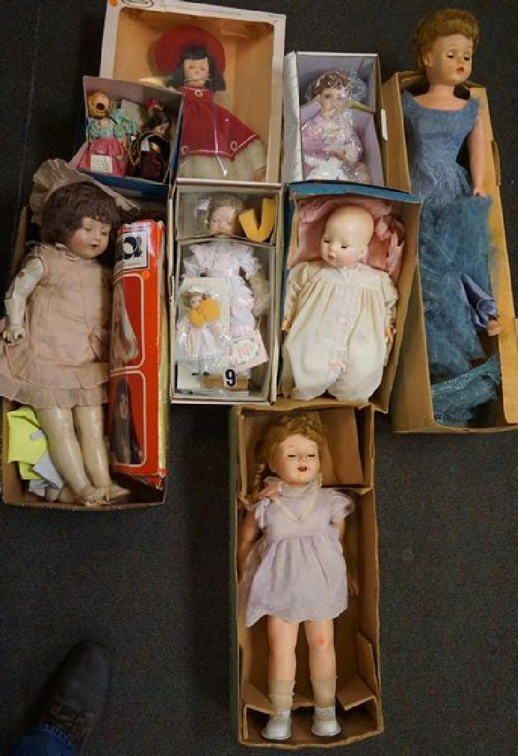 LOT: INCLUDES DOLLS WITH ORIG. BOXES: