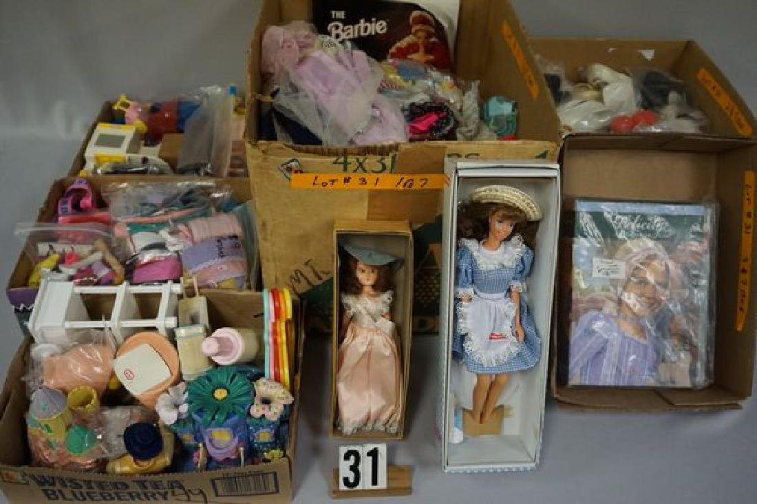BOX OF ASSORTED OUTFITS