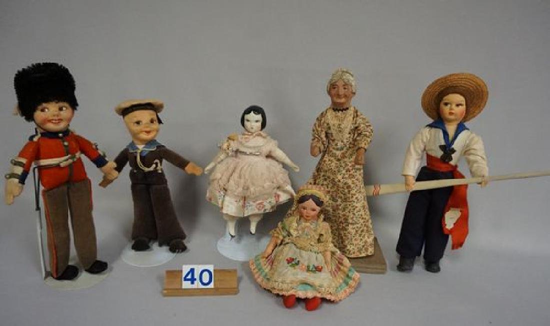 (2) BOXES OF ASSORTED COLLECTIBLE DOLLS - 4