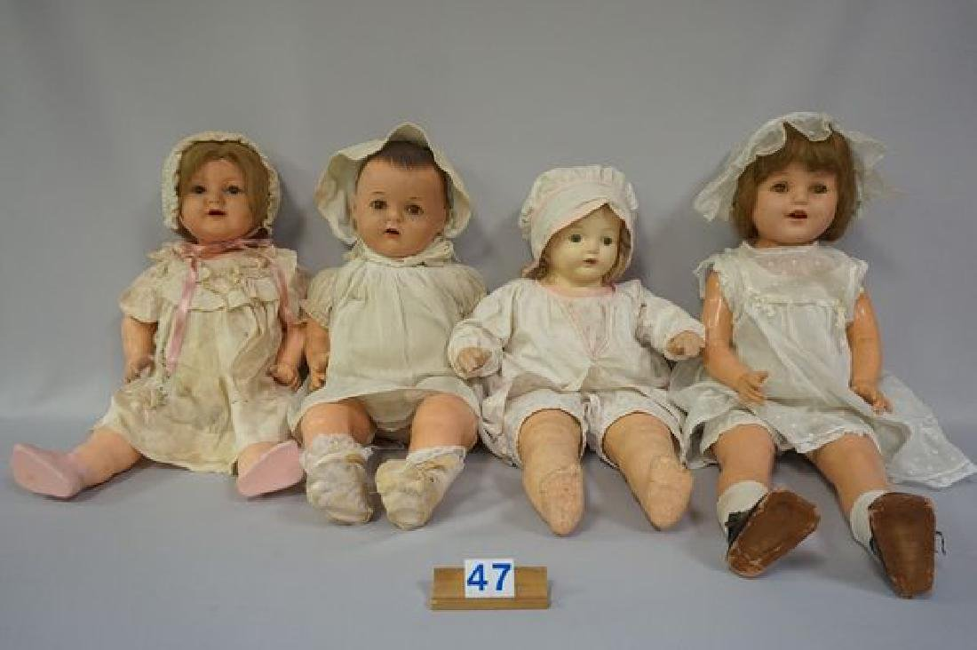 (4 PIECES) 22 INCH ALL COMPO JOINTED BABY