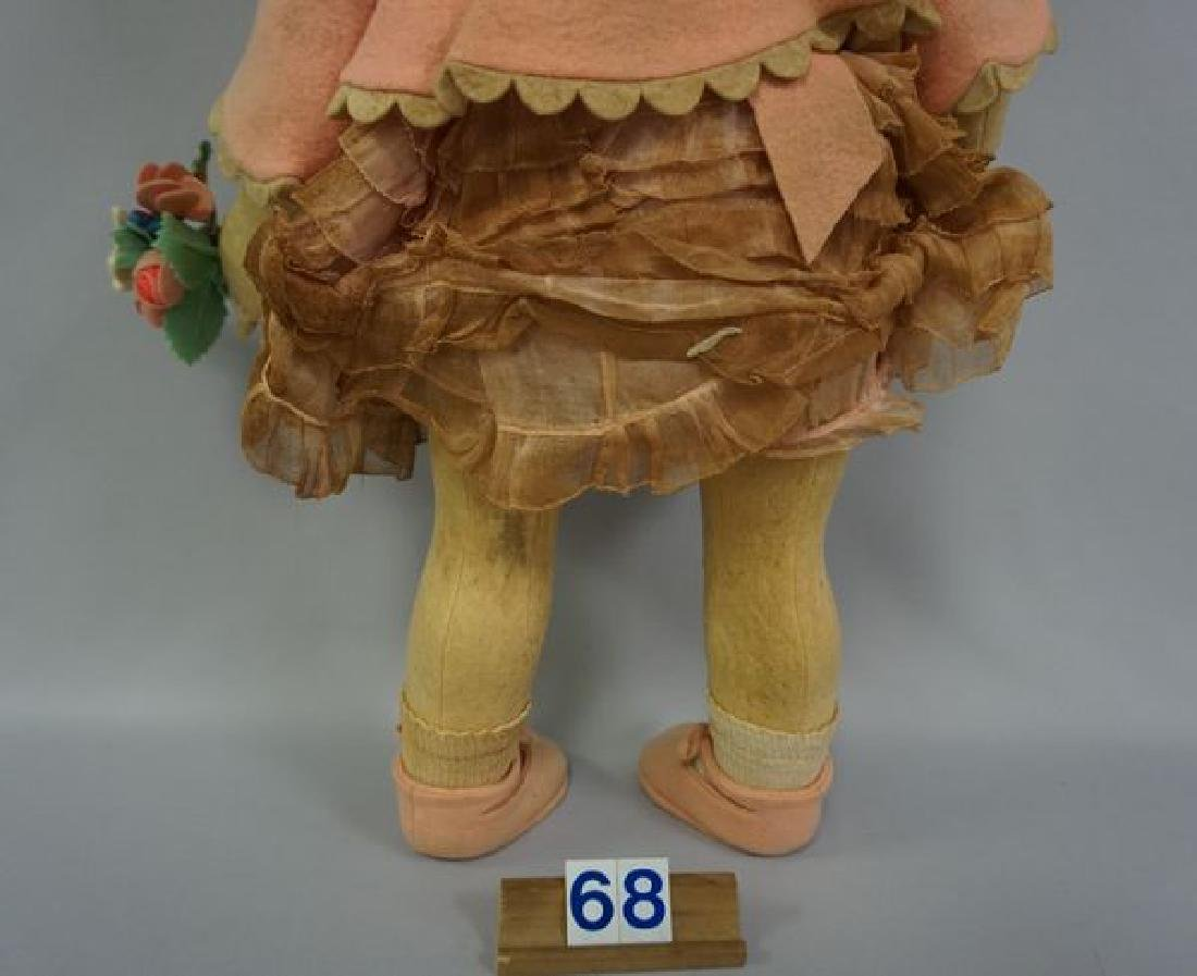 LENCI 21 INCH GIRL IN PINK WITH BONNET - 5