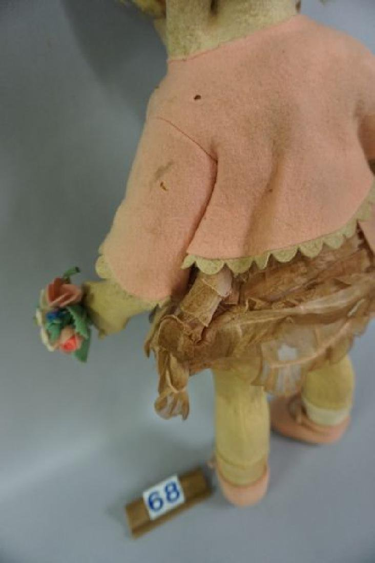LENCI 21 INCH GIRL IN PINK WITH BONNET - 7