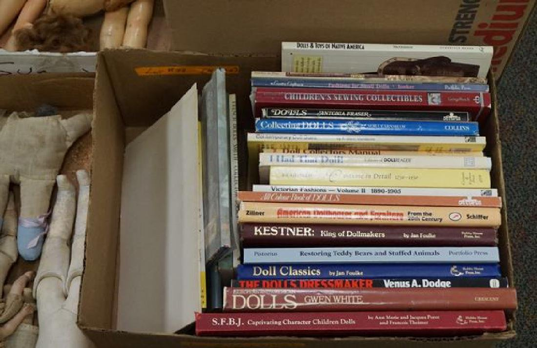 LOT: BOX OF DOLL REFERENCE BOOKS - 2