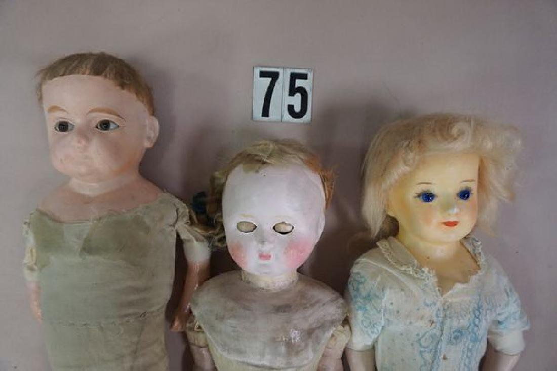 (9 PIECES): (3) BED DOLLS, (1) HELOISE CLOTH - 5