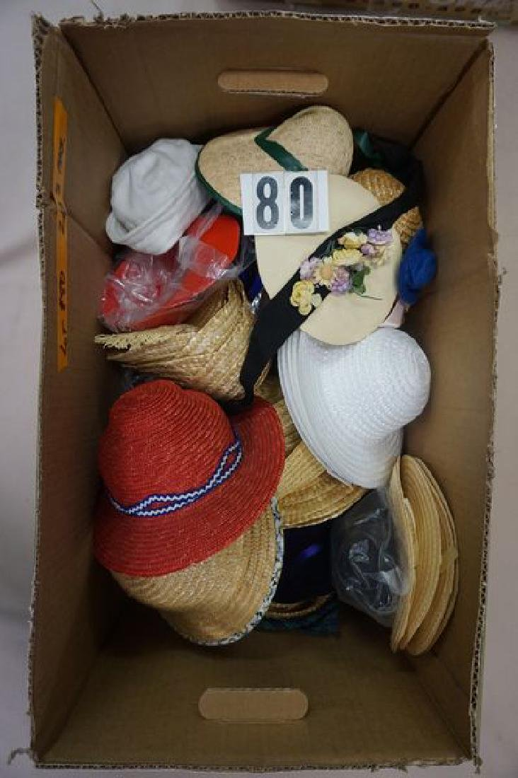 LOT: LARGE BOX OF ASSORTED SIZE CELLULOID - 3