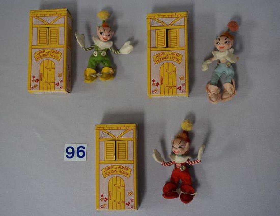 (3) JUMP JUMP OF HOLIDAY HOUSE DOLLS