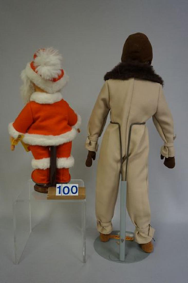 (2 PIECES) STEIFF 12 INCH SANTA CLAUS, - 3