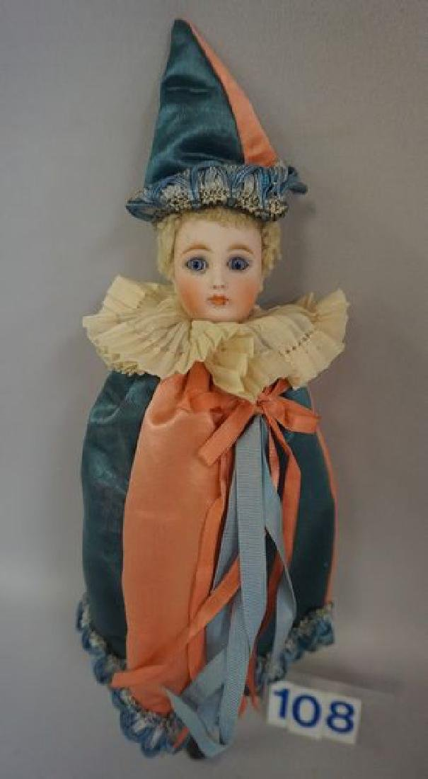 12 INCH HIGH MAROTTE WITH WOODEN