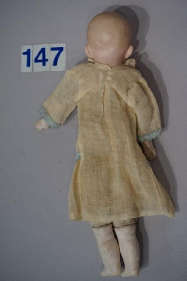 HEUBACH 10 INCH BISQUE HEAD LAUGHING BOY - 3