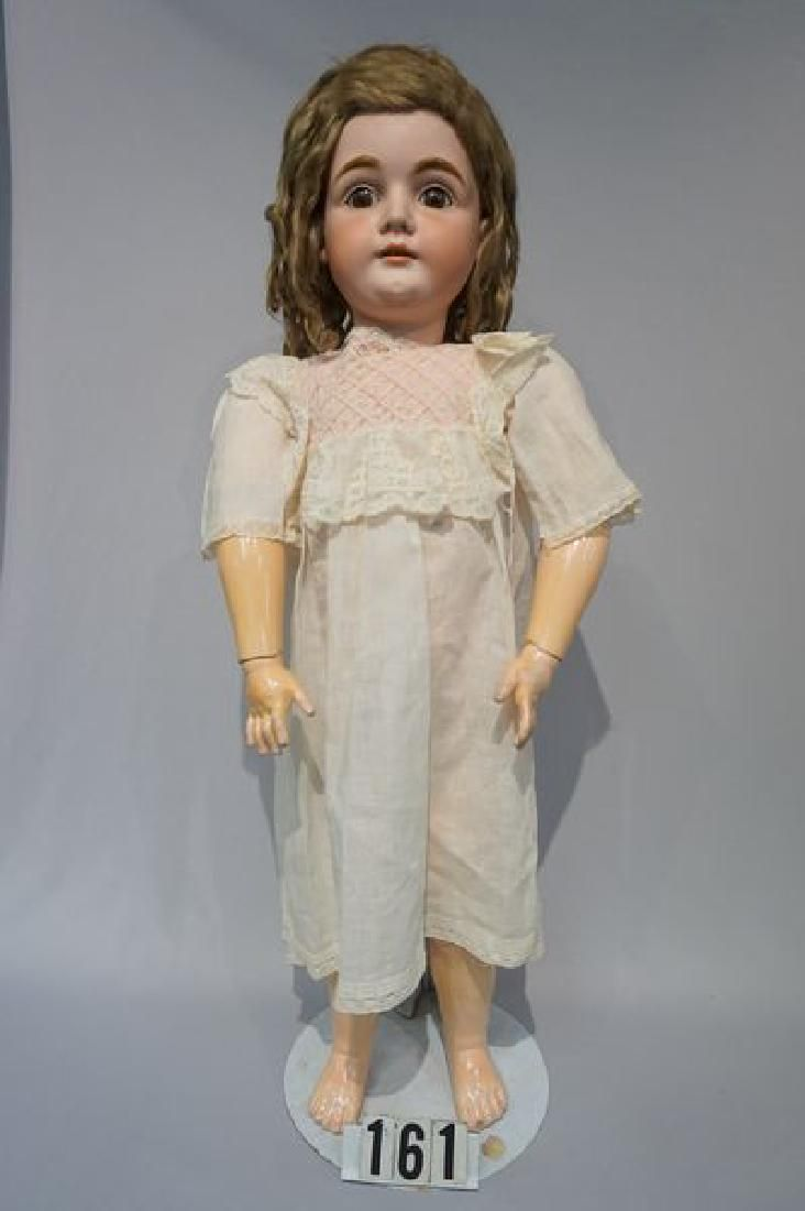 KESTNER #164 N 17, 32 INCH BISQUE HEAD CHILD
