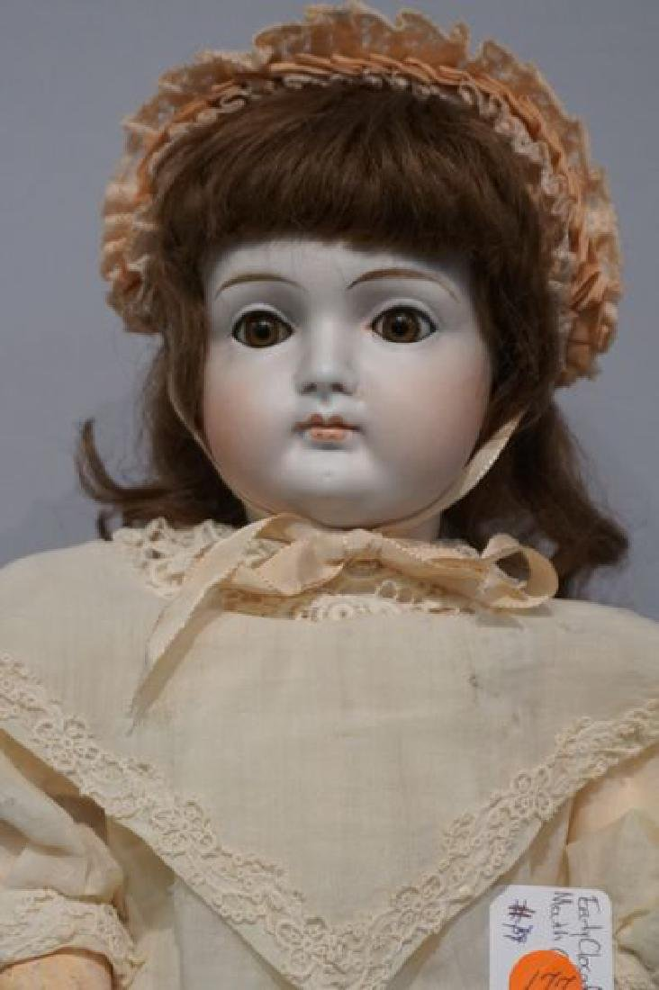 GERMAN EARLY 21 INCH CLOSED MOUTH DOLL - 2