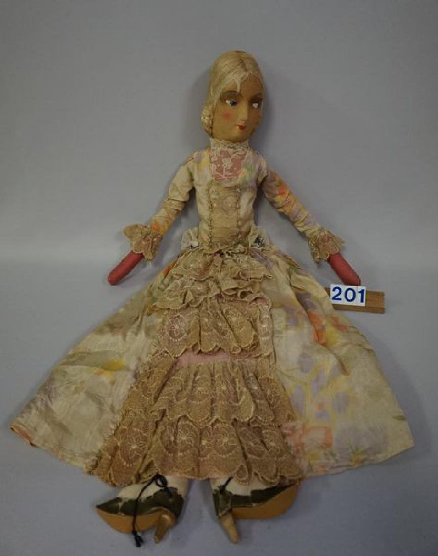 29 INCH ALL-CLOTH BED DOLL