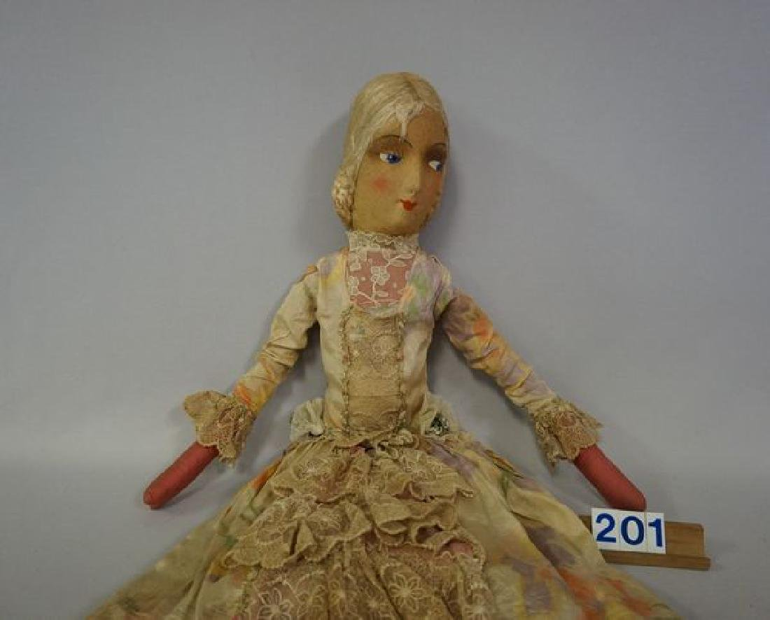 29 INCH ALL-CLOTH BED DOLL - 2
