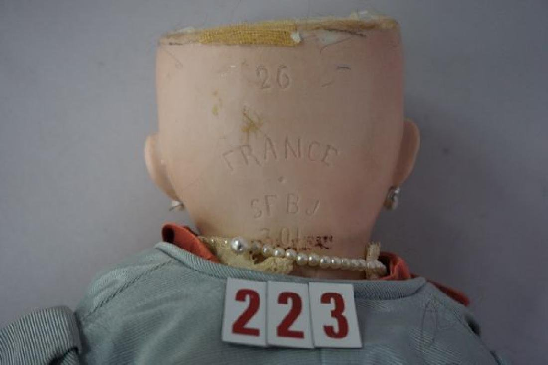 SFBJ #301 20 INCH BISQUE HEAD 'TETE JUMEAU' - 3