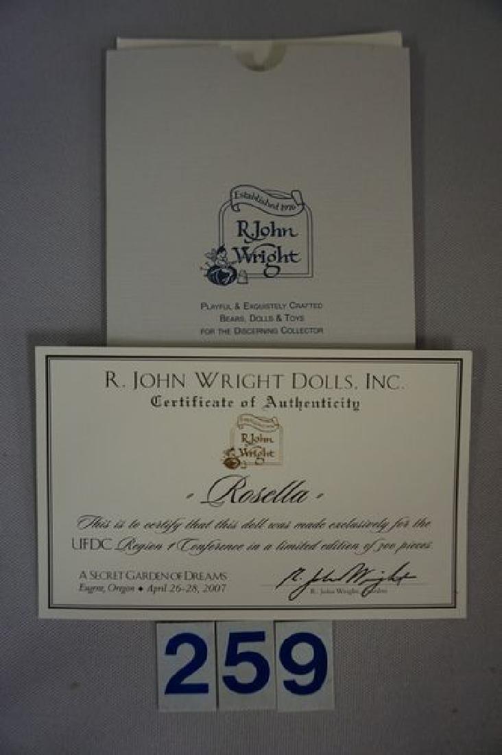R. JOHN WRIGHT 13 INCH ROSELLA FAIRY - 3