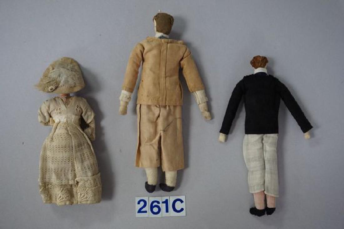 LOT OF (5) EARLY 1900'S FOLKART/HANDMADE - 3