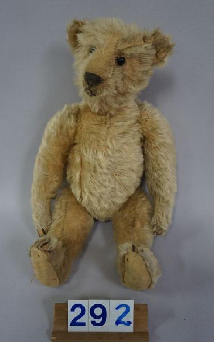 (2) ANTIQUE TEDDY BEARS: - 2