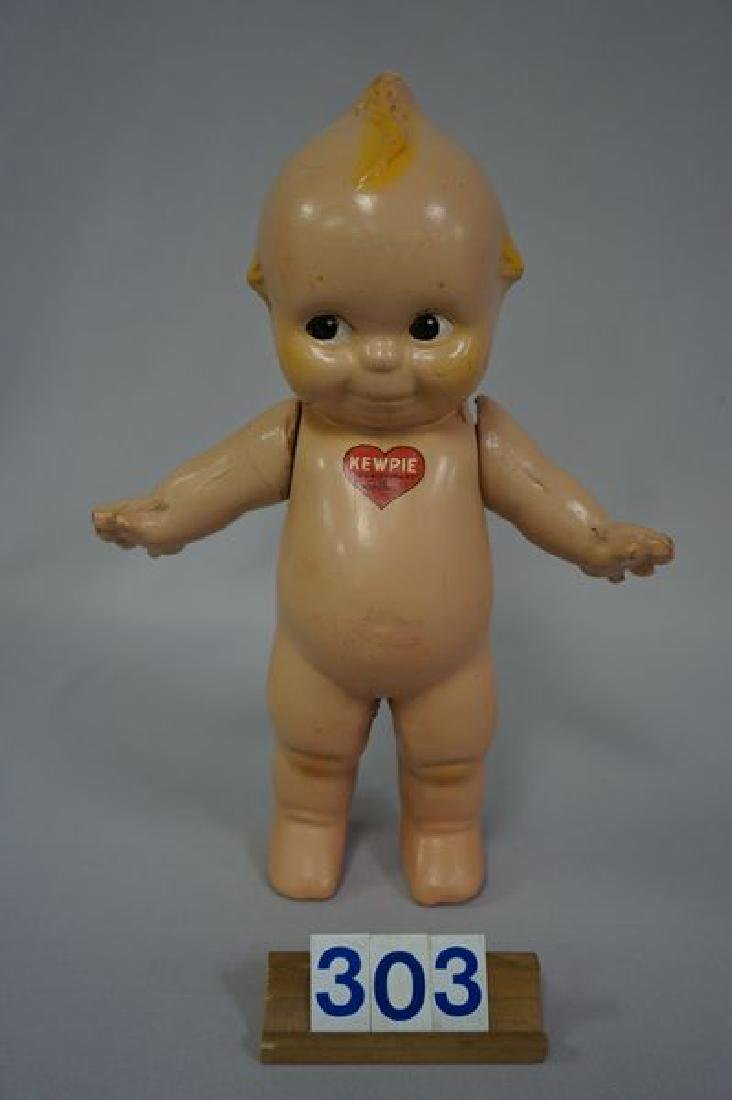 ROSE O'NEILL 11 INCH ALL COMPO KEWPIE
