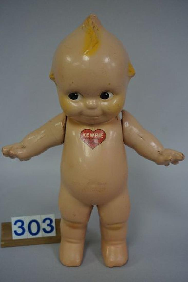 ROSE O'NEILL 11 INCH ALL COMPO KEWPIE - 2