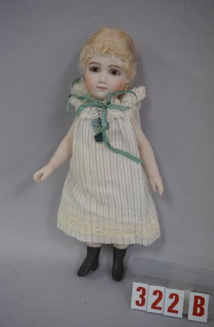 7 INCH ALL BISQUE ARTIST DOLL