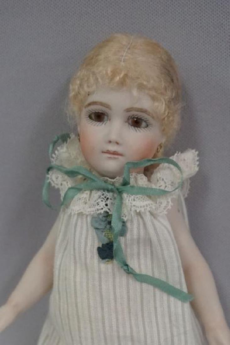 7 INCH ALL BISQUE ARTIST DOLL - 2