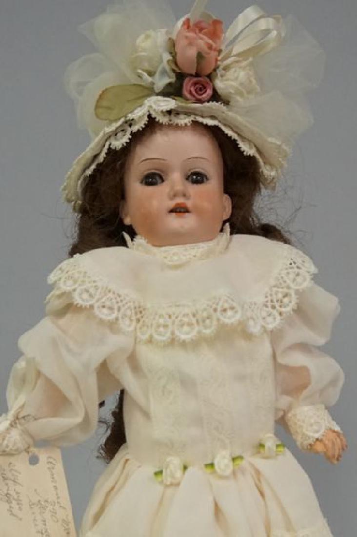 AM 390 13 1/2 INCH BISQUE SOCKET HEAD GIRL - 2
