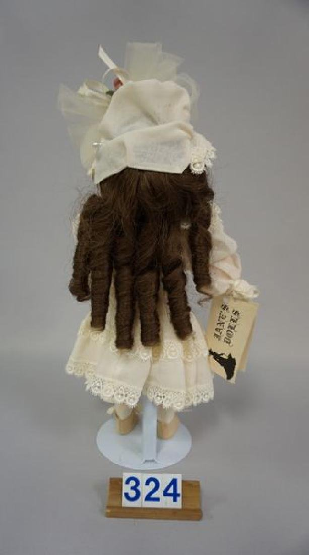AM 390 13 1/2 INCH BISQUE SOCKET HEAD GIRL - 3