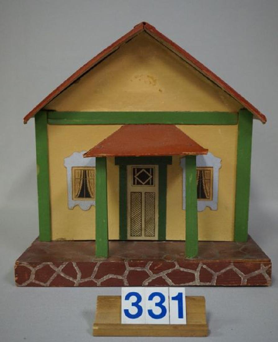 BUNGALOW STYLE PAINTED WOODEN DOLL - 2
