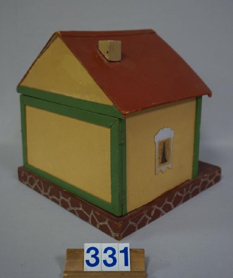 BUNGALOW STYLE PAINTED WOODEN DOLL - 3