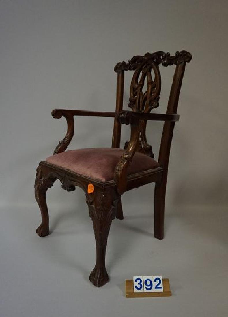 (2 PIECES) DOLL FURNITURE (NOT ANTIQUE): - 2