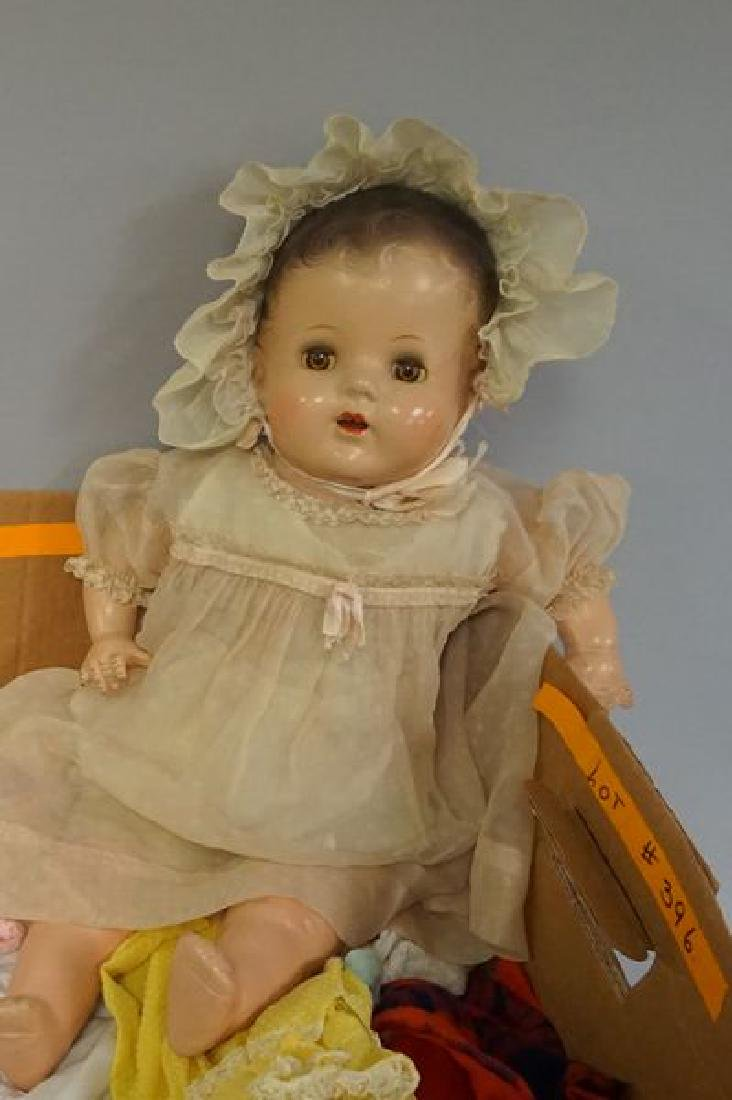 22 INCH COMPO & CLOTH BABY - 2