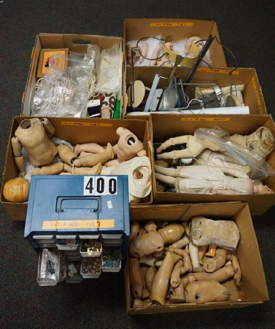 LARGE LOT FOR THE DOLL LOVER/REPAIR