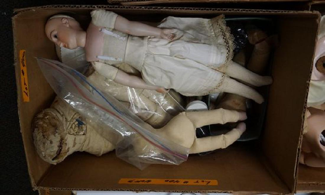 LARGE LOT FOR THE DOLL LOVER/REPAIR - 4