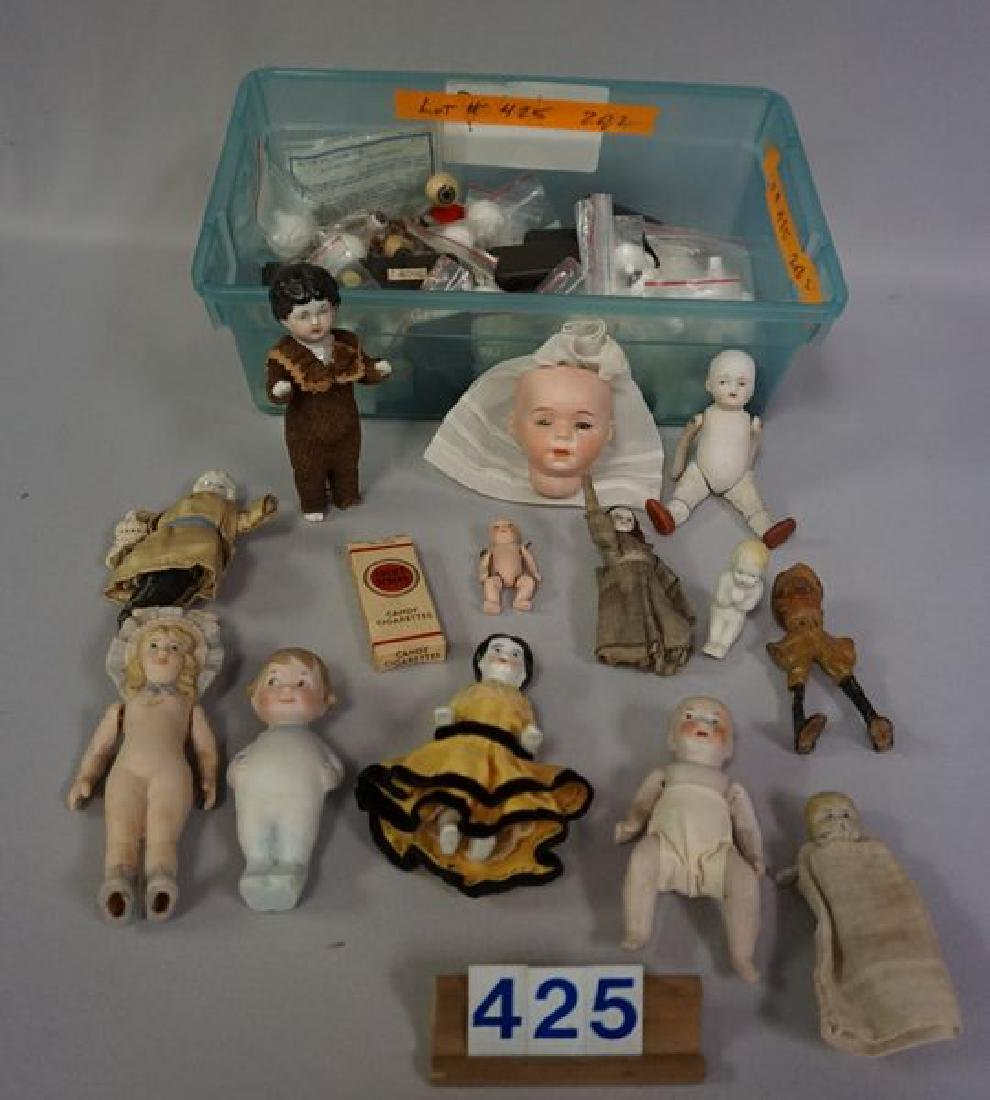 BOX OF ASSORTED SMALL (MOSTLY ANTIQUE)