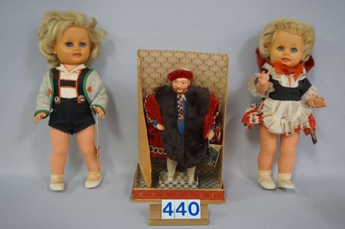 BOX LOT OF FOREIGN DOLLS - 2