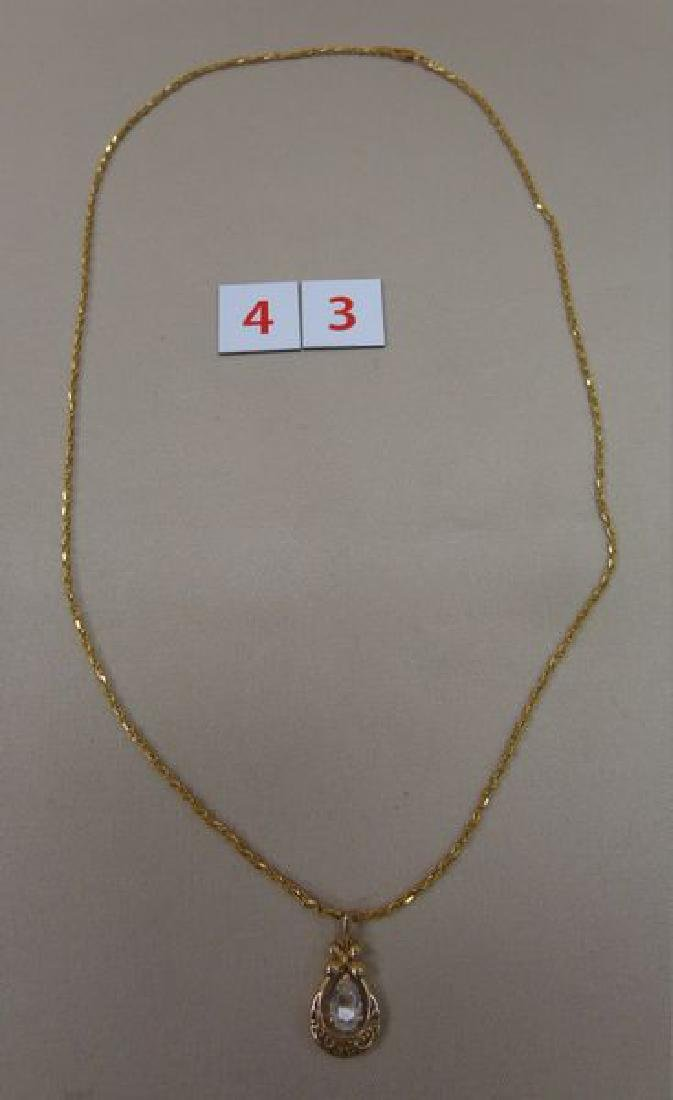14 KT. GOLD LADIES NECKLACE