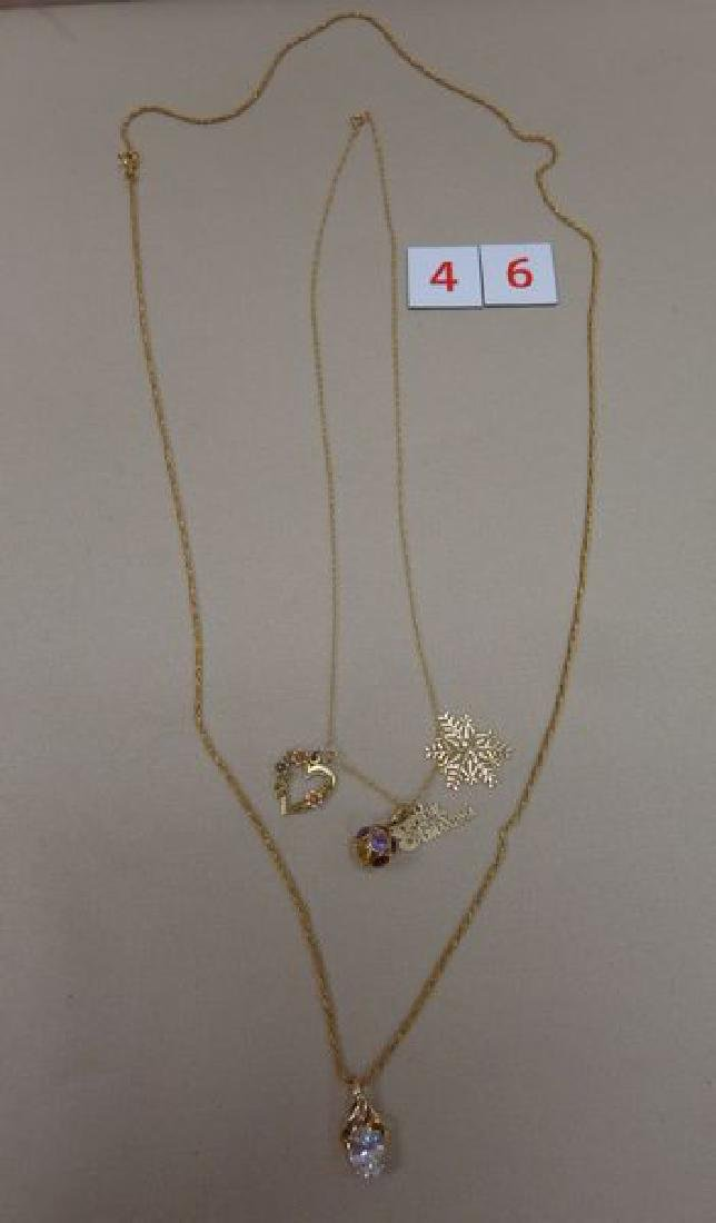 18 KT. GOLD 29 1/2 INCH NECKLACE