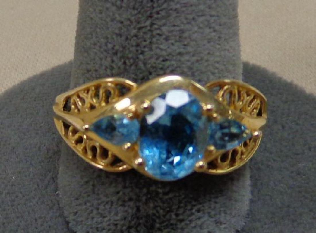 LADIES 14 KT. GOLD RING