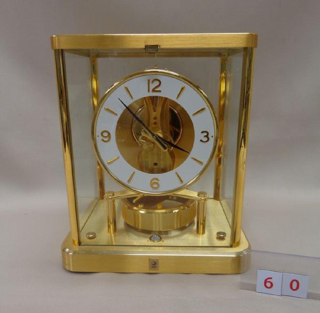 BRASS 'ATMOS' CLOCK BY JAEGER-LE COULTRE,